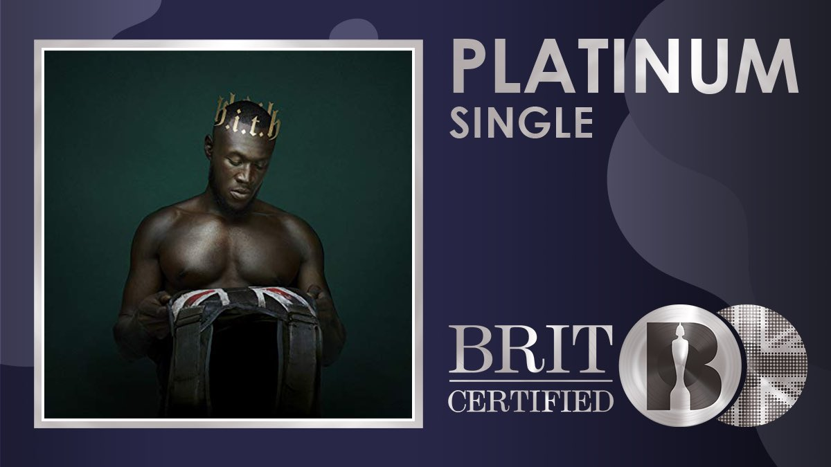 🔥 @Stormzy's single 'Own It' featuring @edsheeran and @burnaboy from his #BRITs nominated album 'Heavy Is the Head' is now #BRITcertified Platinum 💿  p.s who else is excited to see him perform at The BRITs 2020 in 2 days?