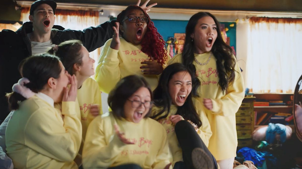 Lana Condor, Noah Centineo, Jordan Fisher & Jenny Han gave some To All The Boys superfans the surprise of their lives