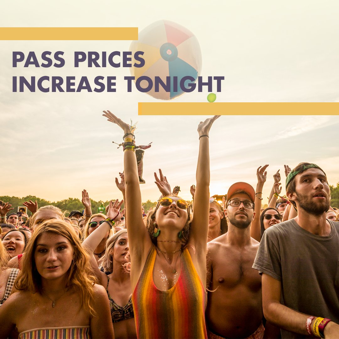 If you were looking for a sign to get Firefly passes- this is it! Last chance to grab them before prices increase. ✨