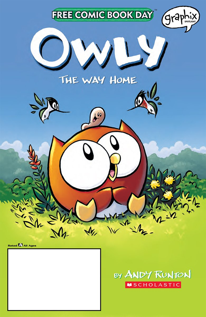 Owly: The Way Home is absolutely precious!!! I adore the art and I just want to hug Owly!   Aaannnd based on these preview pages, it seems like Owly will get his chance after all to truly help someone! 🧡💛  @GraphixBooks  @Owly  #FCBD20