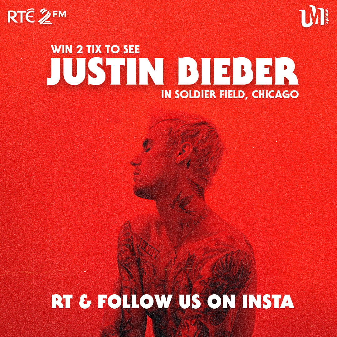 To celebrate the latest album from @justinbieber, #Changes, 2FM & @UniMusicIreland wanna send you & a mate to see him in CHICAGO! 😍   Flights, transfers, hotel & 2 tix to see Justin live in Soldier Field in June, all on us! 😎  RT this post & FOLLOW us on Insta 😉   #2FMBIEBER