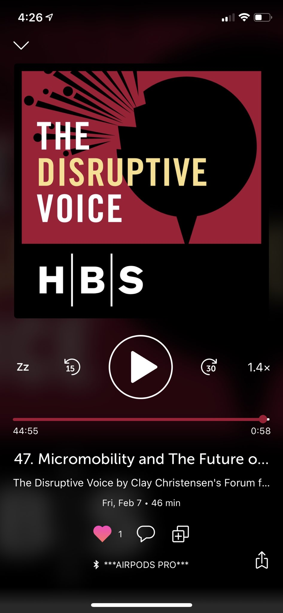 Can't believe I'd never heard this from Horace (@asymco) yet. His interview with Katie Zandbergen (not on Twitter) is one of the best podcasts I've ever heard. https://t.co/SlZQE2K8XA