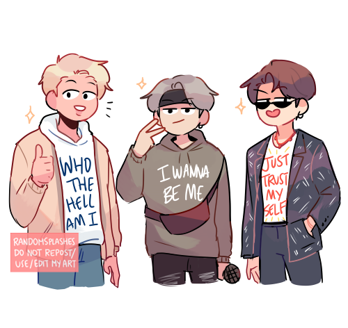 fashion show with persona, shadow and ego  #btsfanart #BTS #EGO #PERSONA #SHADOW #MAP_OF_THE_SOUL_7 @BTS_twt