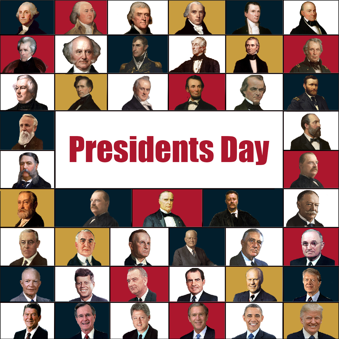 On this #PresidentsDay, turn on your sound to pay tribute with us to our commanders-in-chief and their service to our country.  Semper Fi.