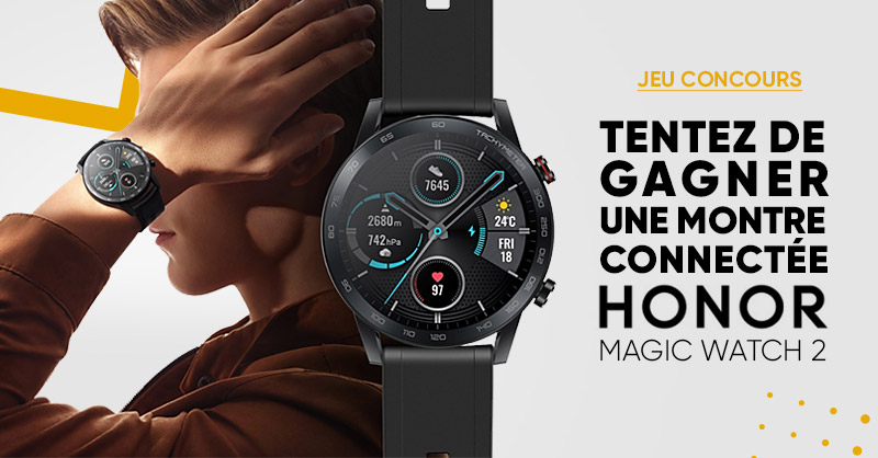 JEU CONCOURS 🎁 | Fans de montres connectées ⌚ On vous propose un cadeau exceptionnel de la part de @Honor_FR. Tentez de gagner la Honor MagicWatch 2 aux performances incroyables ! 💣   ➡ Pour participer : RT + Follow @Fnac > Bonne chance ! 🍀 >>