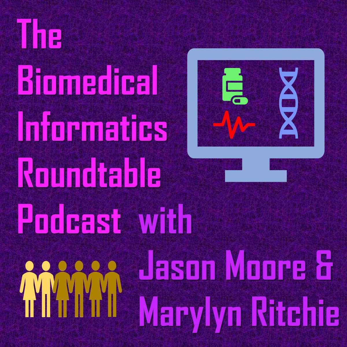 test Twitter Media - The Biomedical Informatics Roundtable Podcast by @moorejh & @MarylynRitchie. Tune in for discussion about a wide variety of #informatics & #datascience topics. Available on #Apple https://t.co/mMVJLeFVb7, #Spotify https://t.co/uS3usvDCua, & #Soundcloud https://t.co/r0byvgksw4 https://t.co/4TdVk5UoBq