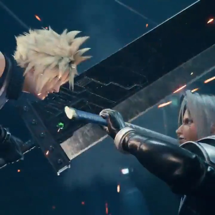 Cloud ✔️ Buster Sword ✔️ Sephiroth ✔️ Masamune ✔️  There's your iconic pose. #FF7R