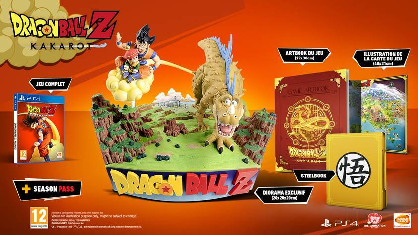 🧡 Concours Dragon Ball Z Kakarot ! 🧡  Le jeu vient de sortir, et on vous fait gagner une édition collector PS4, avec notamment un magnifique diorama exclusif et un artbook ! 👊 RT + Follow @JVCom pour participer 👊  Fin le 10/02/2020 à 14h. Règlement :