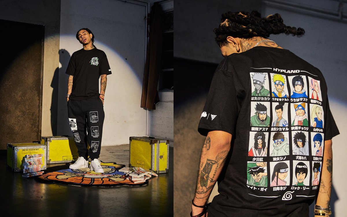 Our Naruto collaboration look book is NOW LIVE for viewing. First release is this weekend at our NY popup on 2/8 & 2/9. Online release on 2/17 |