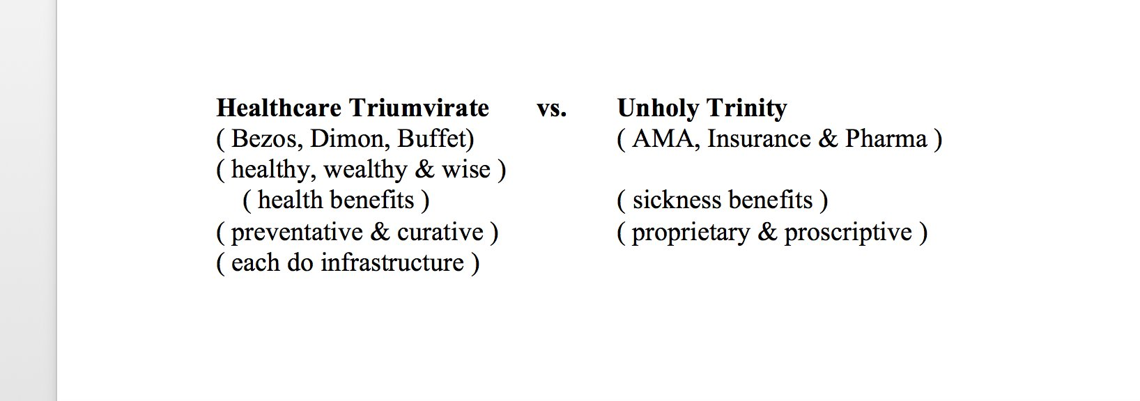 @chrissyfarr @CNBC Interoperability of sickness data is the wrong issue. Health is the correct issue. Seems to me. Which body inputs affect body outputs. If someone collected them, internally then externally, and called it health benefits at the end, who would notice? https://t.co/08zoVGh8in