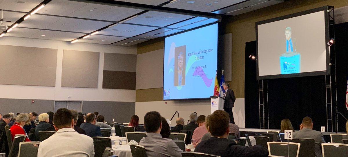 "test Twitter Media - . @Makivik_Corp President Charlie Watt recounts facing down Prime Minister Trudeau (sr.) ""I believe he blinked before I did"" @NL2020Ottawa #NorthernLights https://t.co/xPDKR3xtbo"