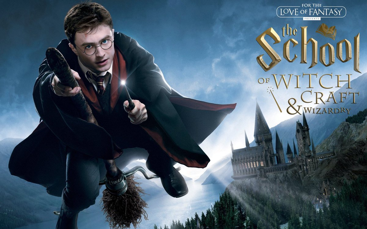 """""""The school of witchcraft and Wizardry""""will be flying into the Edinburgh Academy this August.For  2 days only you can meet cast members from the Harry Potter Movies&more. Magic, cosplay,wand duelling,Spell casting,magical green screen,tickets on sale now"""