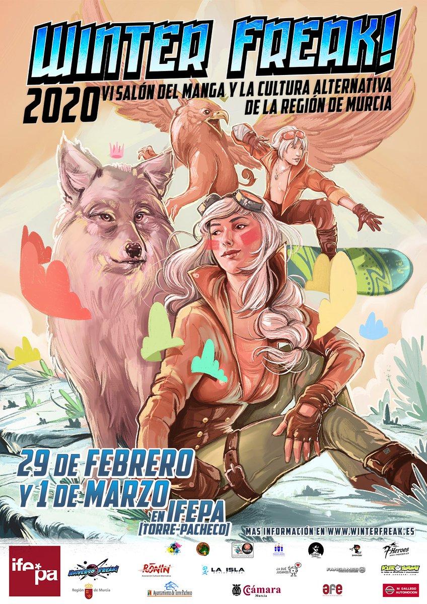 CHICOS!   Por fin puedo decirlo! Voy a @winterfreak_mur los próximos 29 de Febrero y 1 de Marzo! Tengo muchísimas ganas de volver a veroooooos!   Nos vemos!  <3