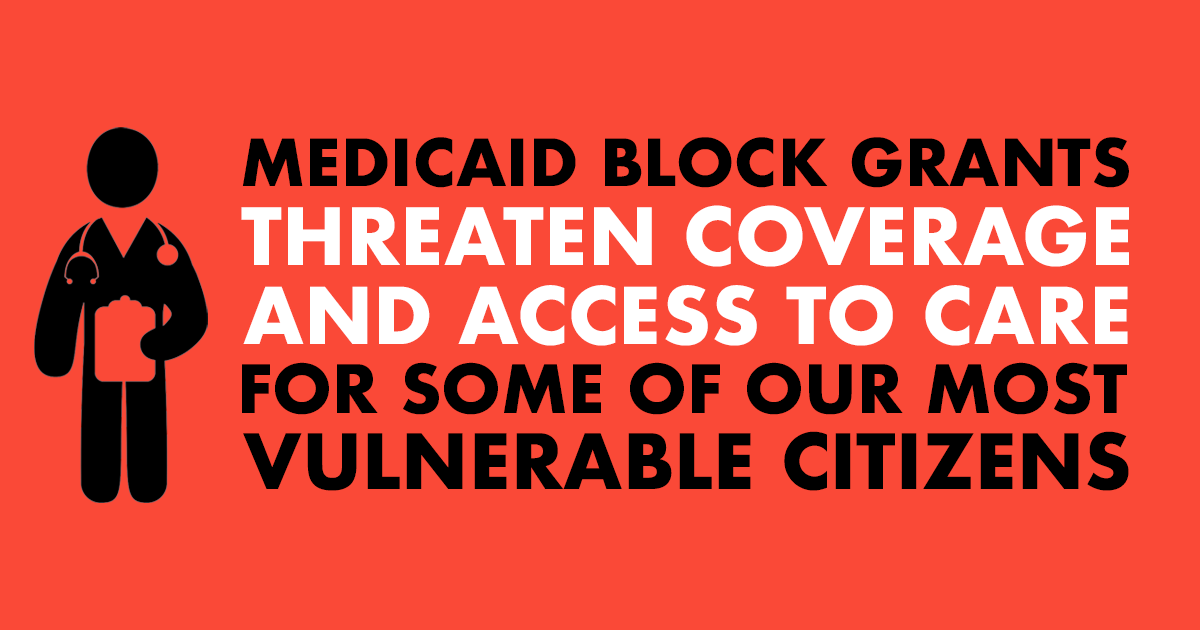 -Rural hospitals -Families helping loved ones fight opioid addiction -People struggling to afford their medications  These are just a few examples of who could suffer if the Trump Admin's illegal scheme to slash Medicaid through block grants is successful. #ProtectOurCare
