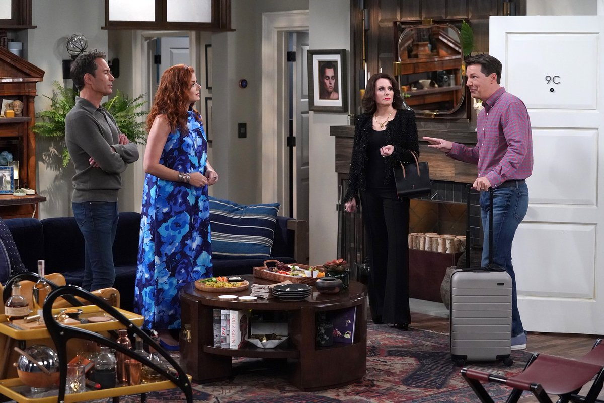 """Here's a little collection of pics from tonight's all NEW episode of """"Will & Grace"""" at 9/8c on NBC. #WillandGrace"""
