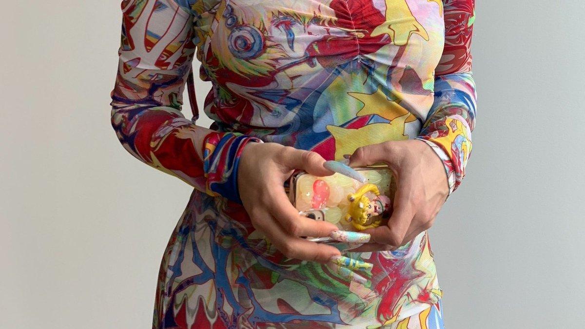 Meet Miami-based Colombian-Ecuadorian nail artist @Krocaine, the artist behind @RosaliaVT's next-level nails.