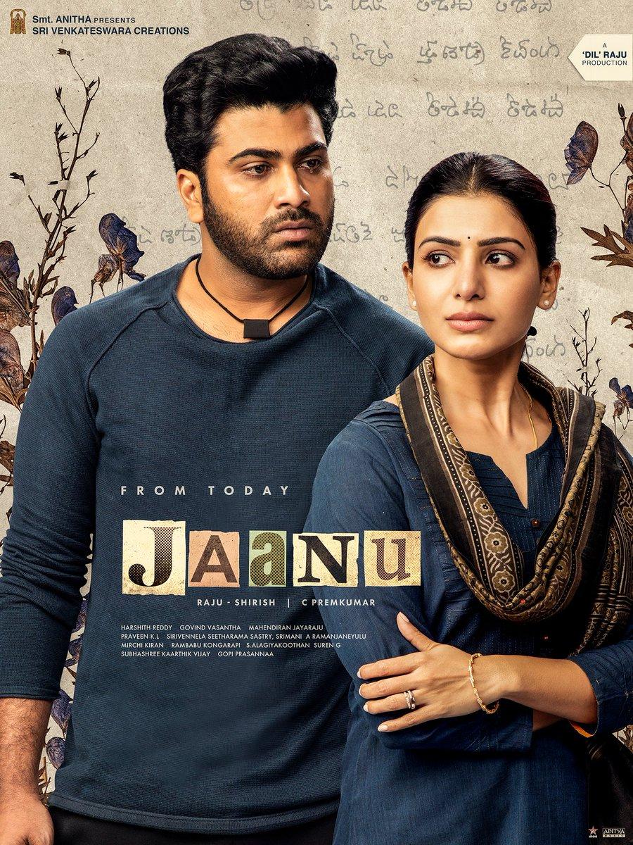 From Today ...  @Premkumar1710 #JaanuFromToday #Jaanu @Samanthaprabhu2 #Sharwanand @SVC_Official @Govind_Vasantha #JMahendran @CinemaInMyGenes #SVC34 @gopiprasannaa
