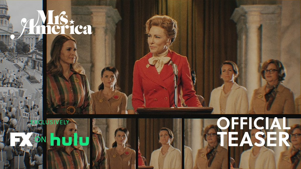 The fight for women's rights was about to change America. Until one woman stopped it. #MrsAmerica premieres April 15 exclusively on #FXonHulu.
