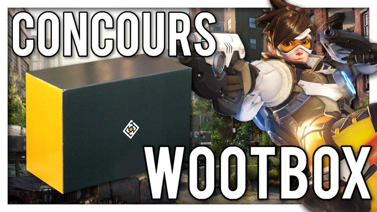 Concours Wootbox : Tentez de gagner la Wootbox du mois de février spéciale BATTLE ! Pour participer : RT + Follow !  @wootbox_fr