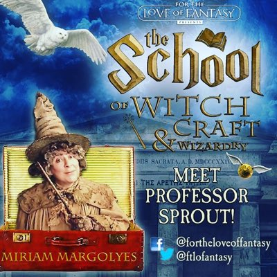 #NewProfilePic to remind you that tickets for @Miriammargolyes are on sale now. Meet the actress behind  #professorsprout #callthemidwife in Edinburgh this August  Tickets -  #theschoolofwitchcraftandwizardry #edinburghfestival #comedyinedinburgh #potter
