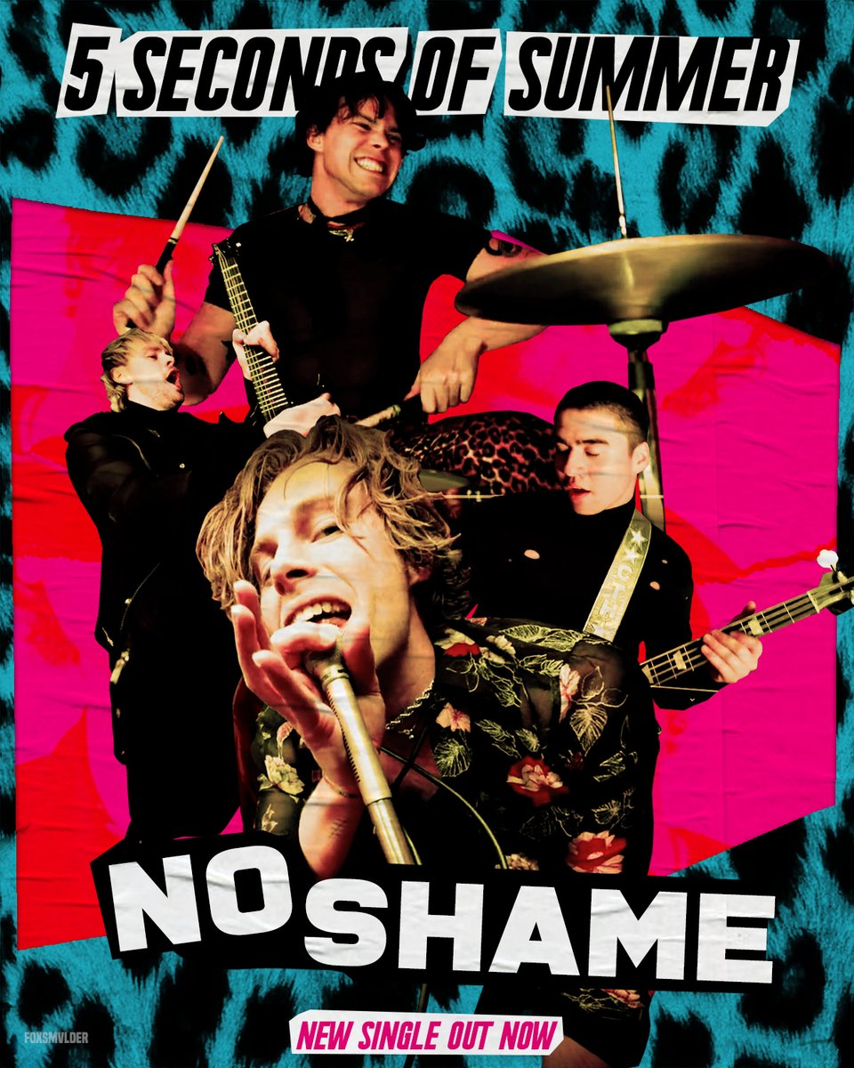 "5SOS #NOSHAME"" PROMO // NEW SINGLE OUT NOW @5SOS #5SOS #5SOS4 #CALM #5SOSPoster"