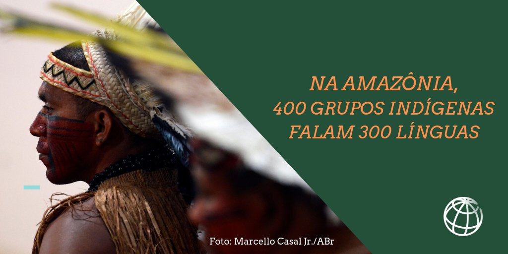Você sabia que em 2019 foi celebrado o Ano Internacional das Línguas Indígenas? Na #Amazônia, elas têm uma característica especial: todas compartilham uma forma holística de se relacionar com a natureza. Saiba mais:  #SomosIndígenas