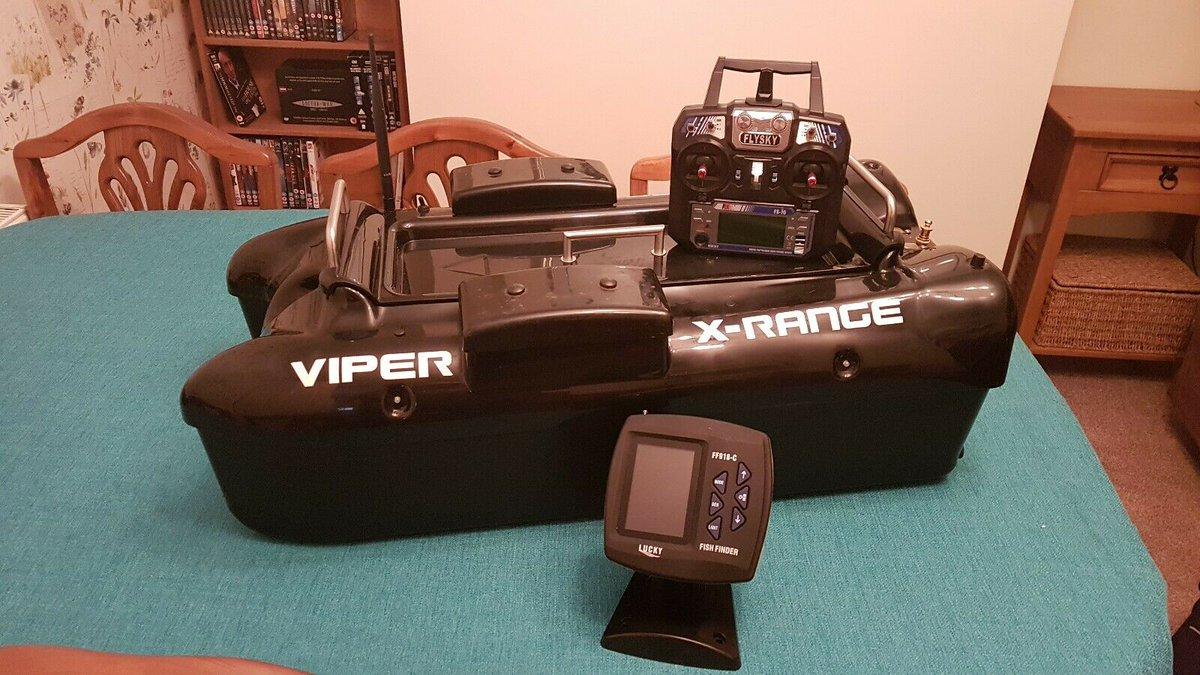 Ad - Viper X-Range Bait Boat On eBay here -->> https://t.co/6feBizTjCM  #carpfishing #baitboat