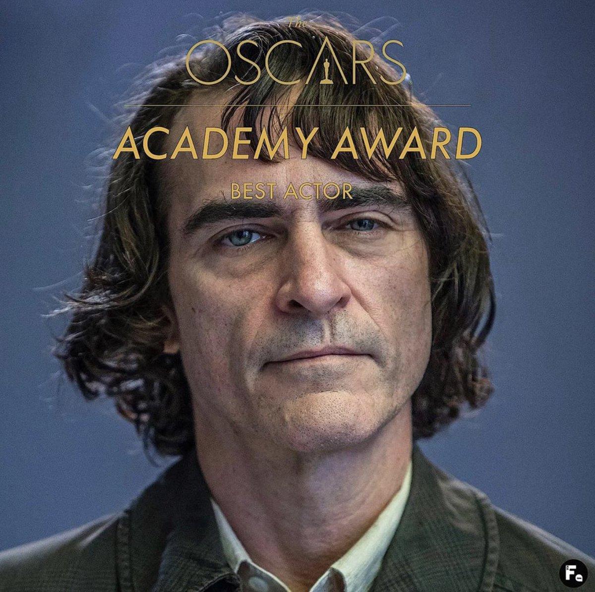 Wow!!! Well Deserved ... All time fvrt Character #Joker #Joaquin_Phoenix #BestActor #Oscars