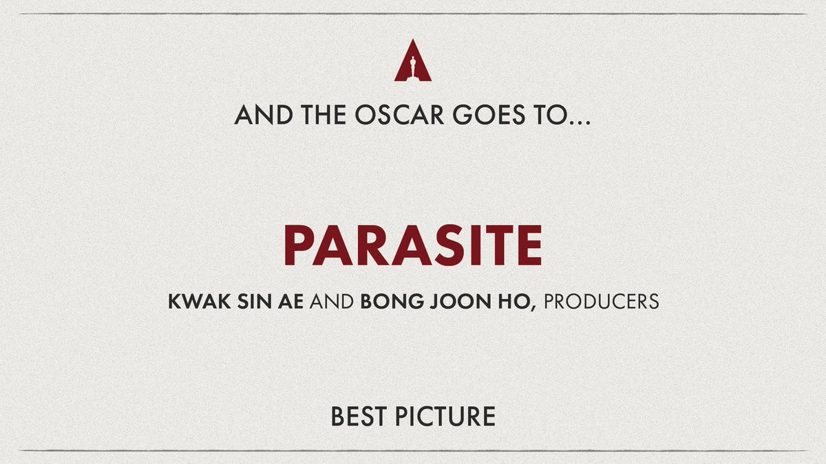 It's official! #Oscars