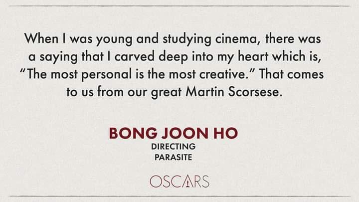 குருவாசகம்   #Oscar2020 😭