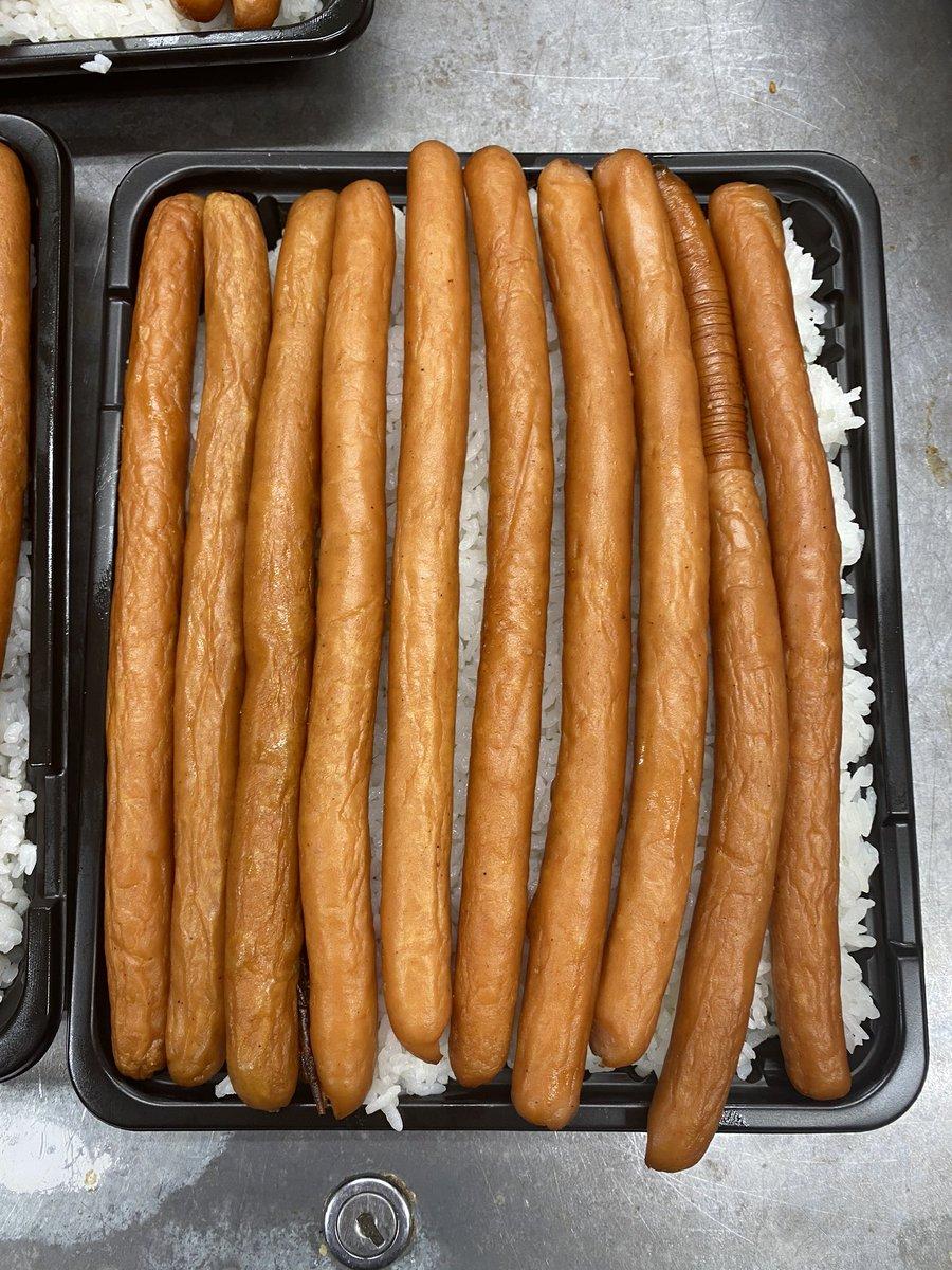 ベーコン エビチリ 大盛りデカ盛りキロベーコン丼 やつかよ 厚切りに関連した画像-12