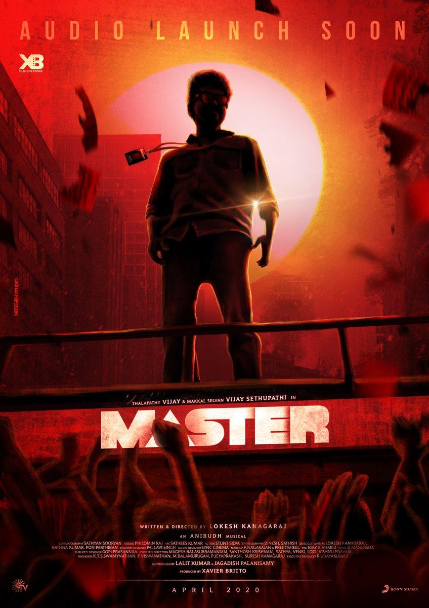 #master 😍🔥 தலைவன் ஒருவனே 🤫😎🔥 @VijayFansTrends @actorvijay @XBFilmCreators @Dir_Lokesh @MrRathna @anirudhofficial @Jagadishbliss @GuRuThalaiva