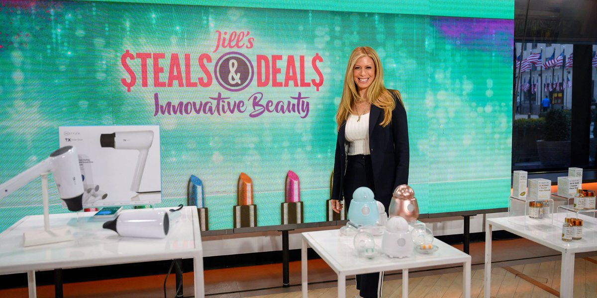 Save up to 86% on hair tools, skincare and more with Jill's beauty Steals & Deals #shoptoday