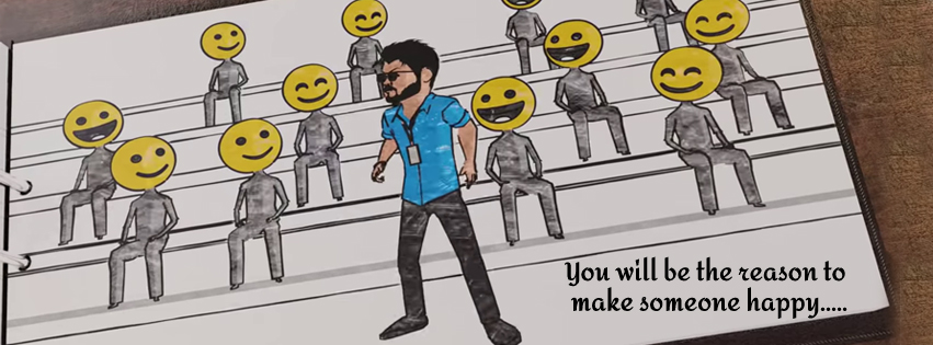 You will be the reason to make Someone happy!   #Master #KuttiStory