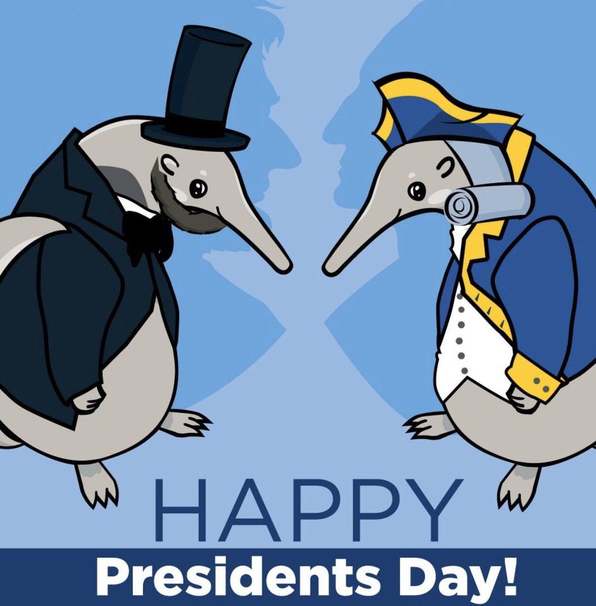 Happy Presidents Day! 💙💛 https://t.co/tvJoRU7CKG