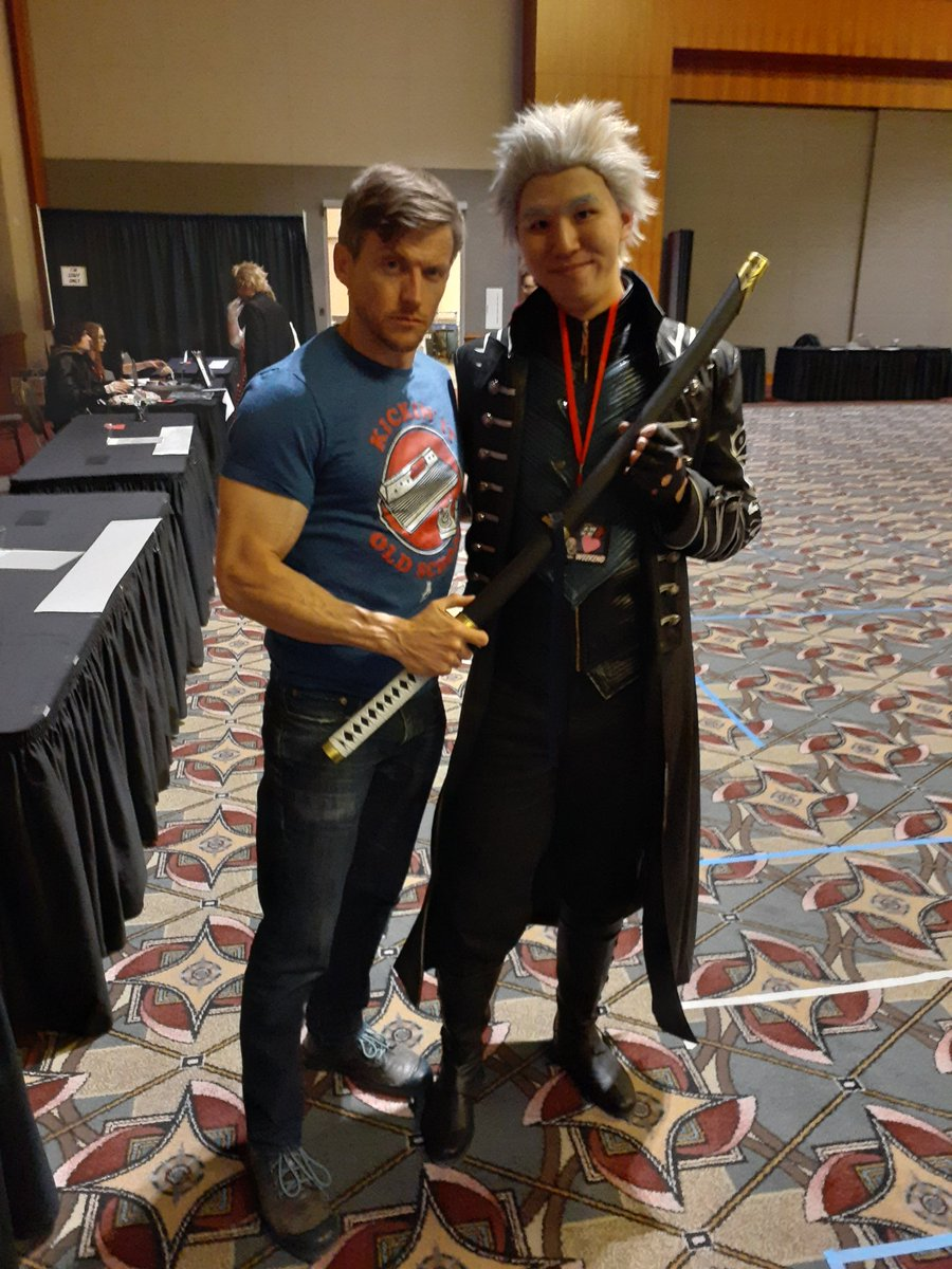 Thank you @gideonemery for signing my favorite #FinalFantasy game as #Balthier! #AMKE2020 was great. #ffxii #ff12 #AMKEthe13th