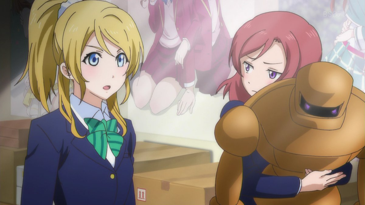 B頭また後で観よw #lovelive >BS日テレ >月曜深夜