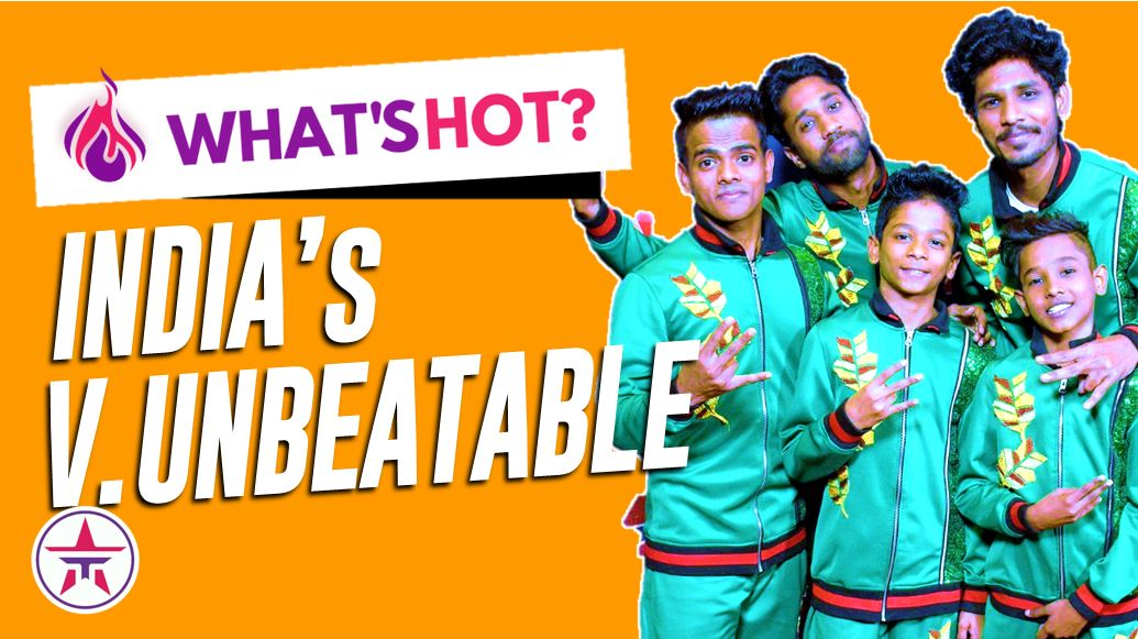 This is HOT! The amazing story of India's @v_unbeatable from the slums of Mumbai to @AGT CHAMPIONS!