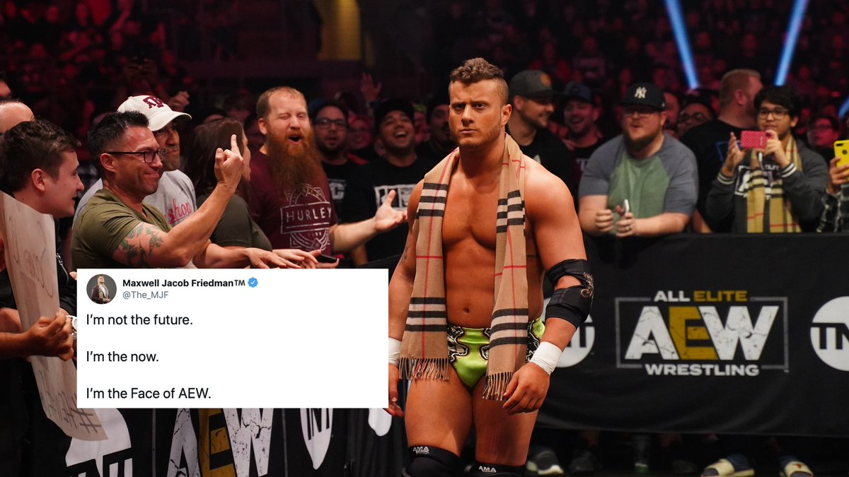 Is @The_MJF the face of #AEW?