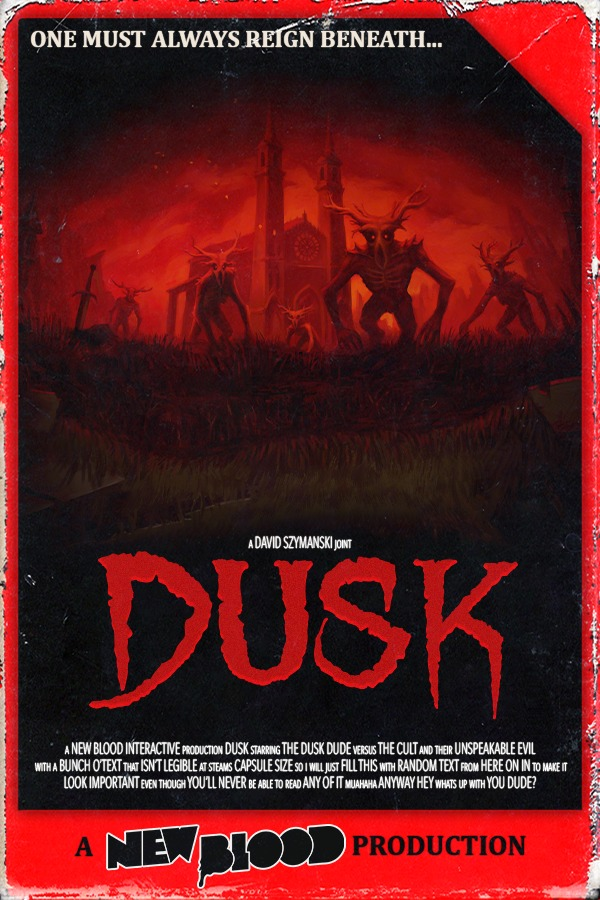 Ok #PAXEast (Press/Content Creator) Appointment booking for @NewBlood is ON.  Want to play... DUSK on Switch?!  AMID EVIL with #RTXOn?! NEW Content for MAXIMUM Action? #GLOOMWOOD?!?!?!? (closed door demo spots super limited)  BOOK NOW: Dave@NewBlood.games