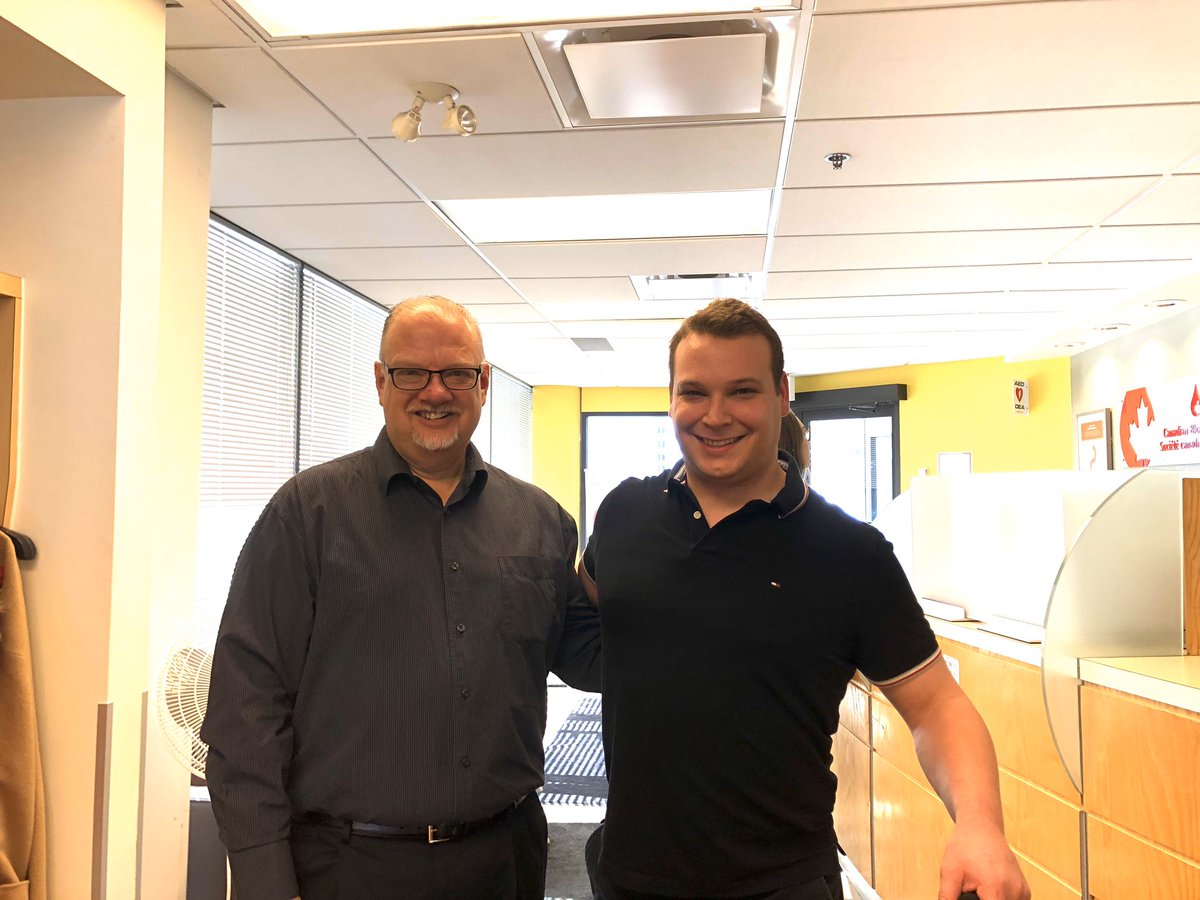 test Twitter Media - Pleasure to visit Canada  Blood Services in Ottawa today. They have this new cracker-jack Government relations director as well. I'm sure I've met him somewhere before? #MBPoli https://t.co/UdNVuinuto