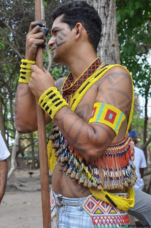"""⭐️""""Na terra indígena Krahô-Kanela estámos lutando pela preservação ambiental e valorização cultural""""- Wagner Katamy da Associação do Povo Indígena Krahô-Kanela (APOINKK)📸enviado ao concurso de fotos do DGM. Carregue aqui ( sua foto p/concorrer um prêmio💵"""