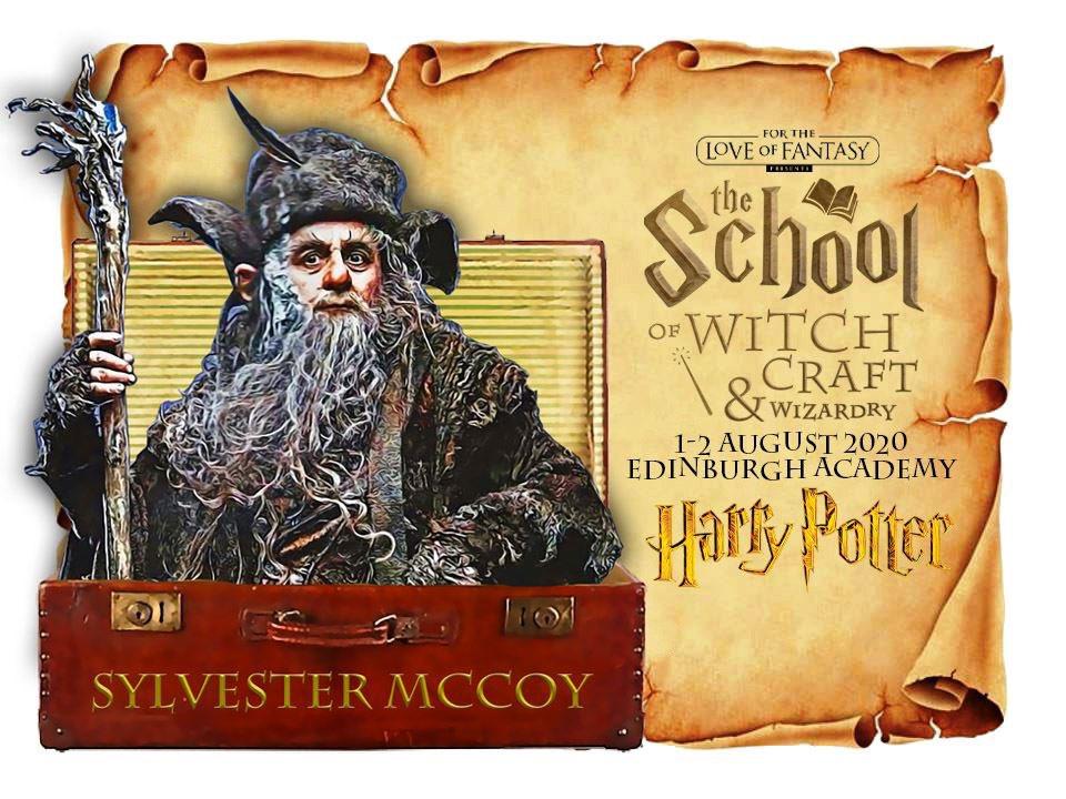 GUEST ANNOUNCEMENT - SYLVESTER McCOY  Appearing @ftlofantasy 2020 in #Edinburgh August 1st&2nd @edinburghacad  Tickets -  #hobbit #drwho #whovians #sylvestermccoy #Radagast #lotr #seventhdoctor #tardis #thehobbit
