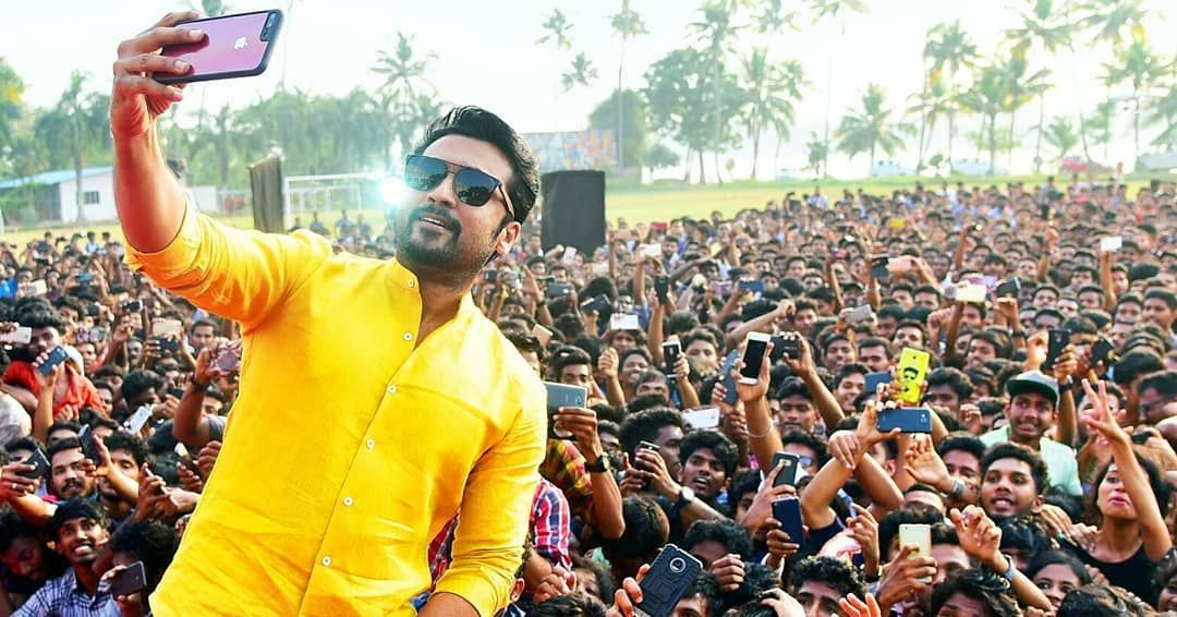 Those Paid Crowd Won't Stand Before this Real Fan Base 😎🔥  THALA - SURIYA Fans Power 💥 @TFC_mass @iamrajesh_sct   RETWEET If you Accept ✌️🌟 #SooraraiPottru #Valimai
