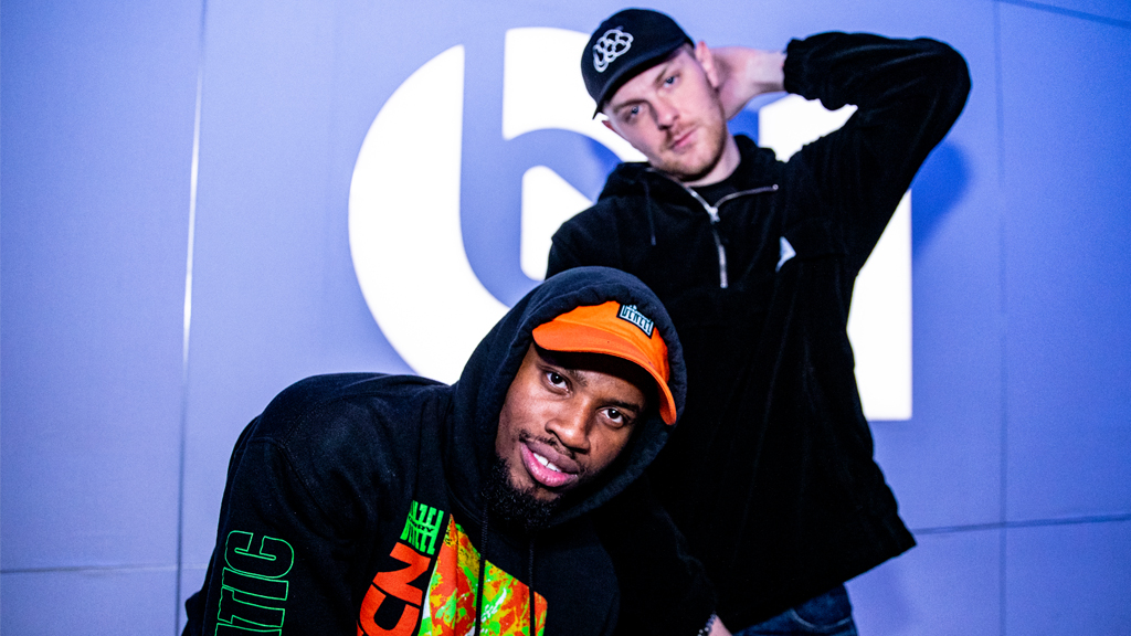 .@denzelcurry and @kennybeats dropped #UNLOCKED over the weekend! They're joining @zanelowe to talk new music and perform live. 👀 Listen up: