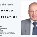 Please join us in welcoming Henry Hamud joining our leadership team as the VP - Certification! https://t.co/cPNyhosXXK