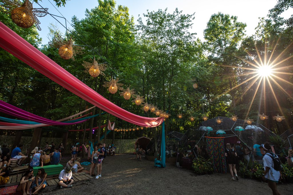 Firefly is so much more than a festival.. You can find something new to experience in every part of the Woodlands. ✨