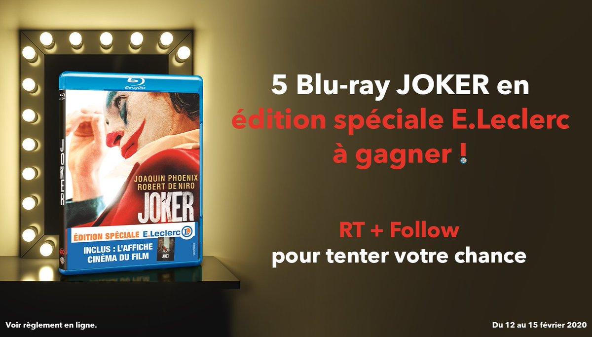 L'ennemi juré de Batman va-t-il littéralement vous faire perdre la tête ? Pour le savoir, tentez de gagner votre exemplaire : RT + Follow pour participer. #Jeu #Concours #Joker