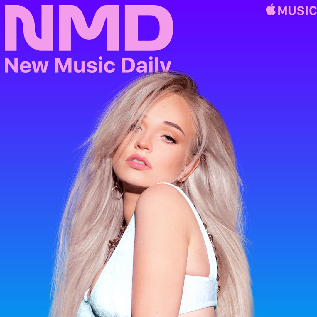 """We have @KimPetras as our Cover Star for #NewMusicDaily.  Listen to """"Reminds Me"""" Now! ⭐️⭐️⭐️"""