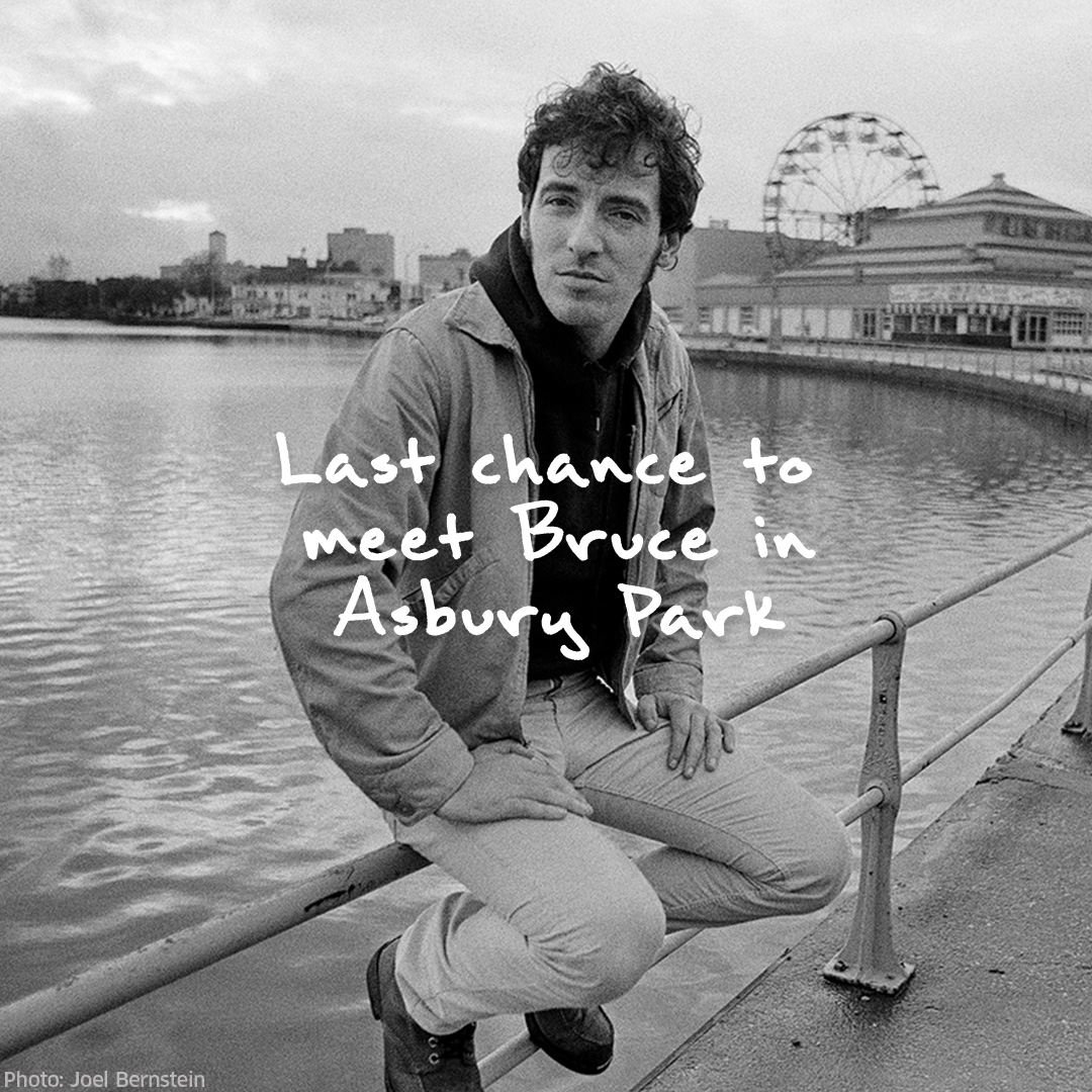 You could hang with @springsteen in Asbury Park & visit the Stone Pony... but it's your LAST CHANCE to enter:   #omaze #brucespringsteen